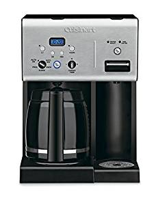 Cuisinart CHW-12 Coffee Plus, Programmable Coffeemaker with Hot Water System