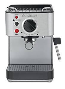 Cuisinart Stainless Steel 1000-Watt 15-Bar Espresso Maker