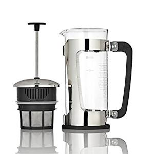 Espro Coffee Press P5-18 oz, Glass Carafe and Stainless Steel Cage, FFP