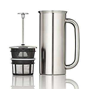 Espro Coffee Press P7-18 oz Double Wall Vacuum Insulated Brushed Stainless Steel Coffee Press