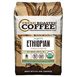 Ethiopian Yirgacheffe Coffee, Fresh Roasted Coffee LLC