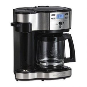 Hamilton Beach Single Serve Coffee Brewer and Full Pot Coffee Maker (49980A)