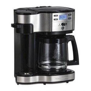Hamilton Beach Single Serve Coffee Brewer and Full Pot Coffee Maker (49980A)