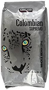 Kirkland Signature Colombian Supremo Whole Bean Coffee