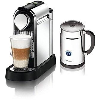 Nespresso Citiz C111 with Aeroccino Plus Milk Frother