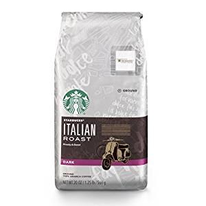 Starbucks Italian Roast Dark Roast Whole Bean Coffee