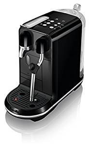 Breville BNE500BKS1BUS1 Nespresso Creatista Uno Single Serve Espresso Machine, Black