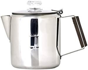 Chinook Timberline 6 Cup Stainless Steel Coffee Percolator