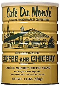 Coffee Decaf and Chicory, 13-Ounce Can (Pack of 3) from Cafe Du Monde
