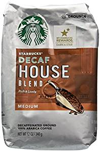 Ground Coffee Decaf, House Blend, Medium from Starbucks