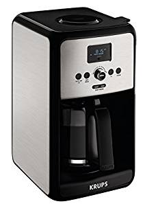 KRUPS EC314050 Programmable Digital Coffee Maker Machine