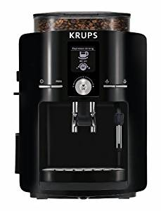 KRUPS Espresso Machine, Espresso Maker with Built-In Conical Burr Grinder