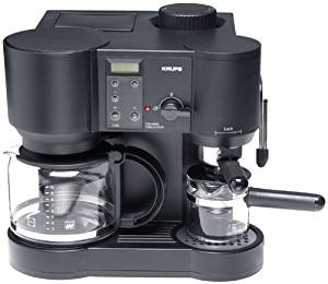 Krups 867-42 Il Caffe Bistro 10-Cup Coffee/4-Cup Espresso Maker, DISCONTINUED