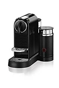 Nespresso CitiZ & Milk Espresso Machine by De'Longhi, Black