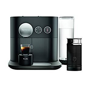 Nespresso Expert Original Espresso and Coffee Maker by Breville, Black