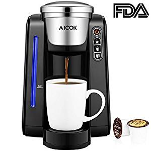 Aicok Single Serve Programmable Coffee Maker
