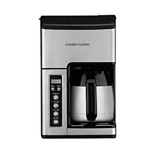 Conair CC10FR/CC-10FR/CC-10FR Cuisine Grind & Brew 10 Cup Coffee Maker – (Certified Refurbished)