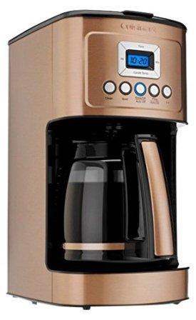 Cuisinart DCC-3200CPAMZ PerfecTemp 14 Cup Programmable Coffeemaker – Copper