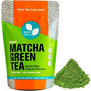 Epic Matcha Organic Green Tea Powder