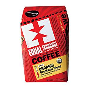 Equal Exchange Organic Coffee | Breakfast Blend | Creamy and Balanced