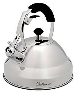 Extra Sturdy Surgical Stainless-Steel Whistling Tea Kettle for Stovetop
