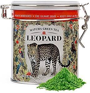 Genuine Japanese Matcha Green Tea Powder Organic - Leopard Matcha