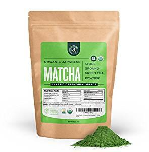 Jade Leaf Matcha Green Tea Powder - USDA Organic - Ceremonial Grade