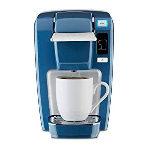 Keurig K15 DENIM BLUE Single Serve Coffee Maker (Newest, Rarest Color)