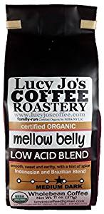 Lucy Jo's Coffee, Organic Mellow Belly Low Acid Blend