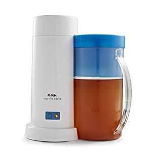 Mr. Coffee TM1 2-Quart Iced Tea Maker for Loose or Bagged Tea, Blue