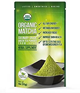 Organic Matcha Green Tea Powder - Japanese Culinary Grade Matcha