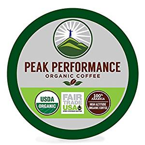 Peak Performance High Altitude Organic Coffee