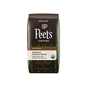 Peet's Coffee, People & Planet, Organic French Roast, Dark Roast