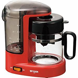 Tiger coffee maker (4 cup for) urban RU Red