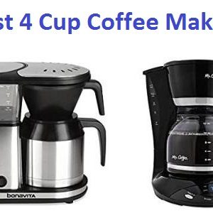 Top 15 Best 4 cup Coffee Makers in 2020