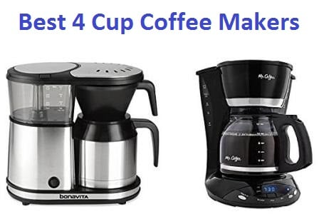 Top 15 Best 4 cup Coffee Makers in 2018