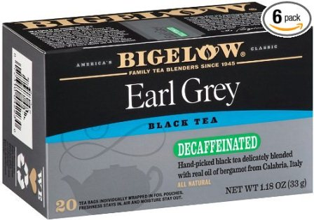 Bigelow Decaffeinated Earl Grey Tea Bags