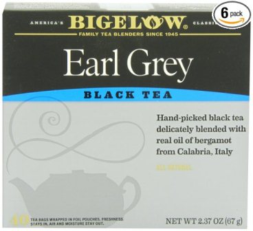 Bigelow Earl Grey Tea 40 bags