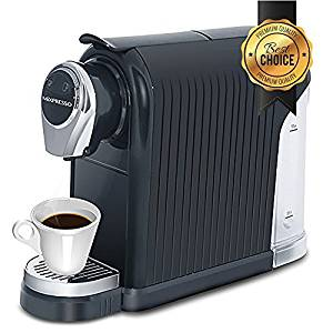 Elite Coffee Maker Espresso Machine By Mixpresso (Black) | For Nespresso Compatible Capsules