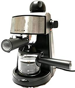 Powerful steam Espresso and Cappuccino Maker Barista Express Machine Black – Make European Espresso