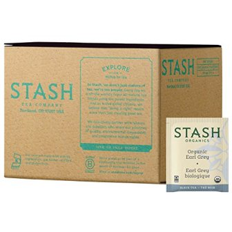Stash Tea Organic Earl Grey Green & Black Tea