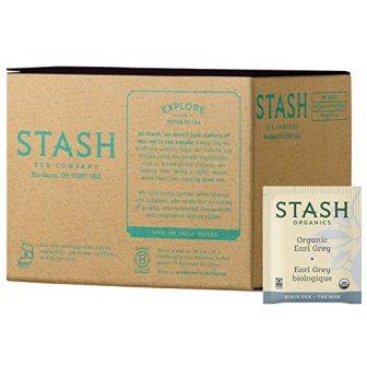Stash Tea Organic Earl Grey Green & Black Tea