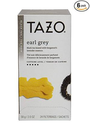 Tazo Earl Grey Black Tea Filter bags