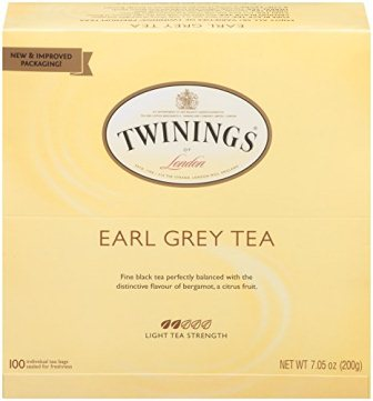 Twinings of London Earl Grey Black Tea Bags