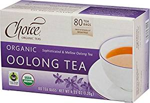 Choice Organic Teas Oolong Tea Value Pack, 80 Count