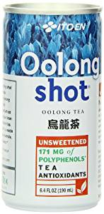 Ito En Oolong Shot, 6.4 Ounce (Pack of 30), Unsweetened, Zero Calories, Antioxidant Rich, Brewed with Whole Leaf Tea