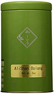 Mountain Tea Company – 5oz Alishan Oolong, Loose-leaf Green Oolong Tea