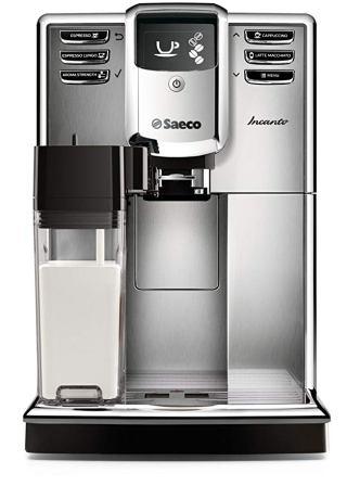 Saeco Incanto Plus Super-Automatic Espresso Machine w/Built-In Grinder – HD8911/67