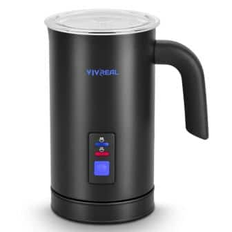 VIVREAL 3-in-1 Electric Milk Steamer Foam Maker Milk Frother