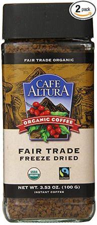 Café Altura – Organic Decaf Instant Coffee